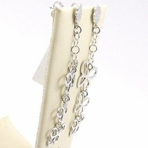 Drop Earrings 925 Silver, Waterfall Butterfly, by Maria Ielpo Made in Italy image 2