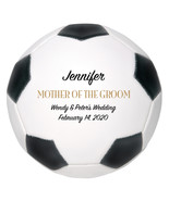 Mother of the Groom Mini Soccer Ball Wedding Gift - Personalized Wedding... - $34.95