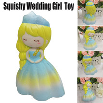 Squishy Toy Wedding Girl Squeeze Slow Rising Cream Scented Decompression... - $8.46