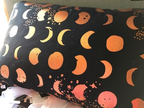 1 Oh Joy! Sparkling Moons Pillow Target Celestial Moon Phases Black Copper