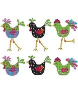 Cool Chicks chicken cross stitch chart Cross Stitch Wonders - $7.20