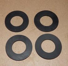 "Camlock Kamlok Gasket Seals 1 15/16"" OD x 1"" ID x 1/8"" 4ea Rubber Washer... - $7.49"