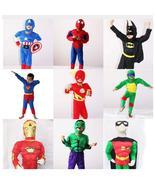 Halloween Costume Captain American Spiderman Batman Superman Robin The H... - $21.13+