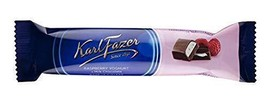 Karl Fazer Raspberry Youghurt in milk chocolate 35 Bars 1.3kg / 46oz - $69.29