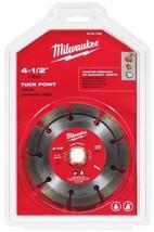 """Milwaukee 49-93-7405 4-1/2"""" Tuck Point Segmented Saw Blade - $27.72"""