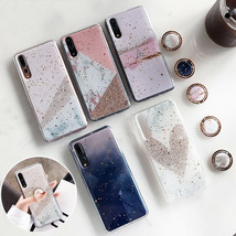 Phone Case Glitter Marble For Huawei P30 P20 Lite Pro Mate 20 Pro Soft Cover - $5.78+