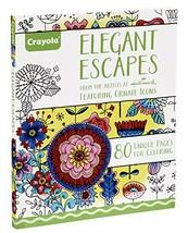 Crayola Elegant Escapes Coloring Book - $6.84