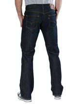 Levi's Men's Original Fit Straight Leg Jeans Button Fly Clean Fume 501-0536 image 3
