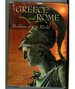 Greece Rome Builders of Our World 1968 1st ed book National Geographic S... - $9.99