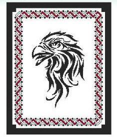 Primary image for Tribal Eagle cross stitch chart Cross Stitch Wonders