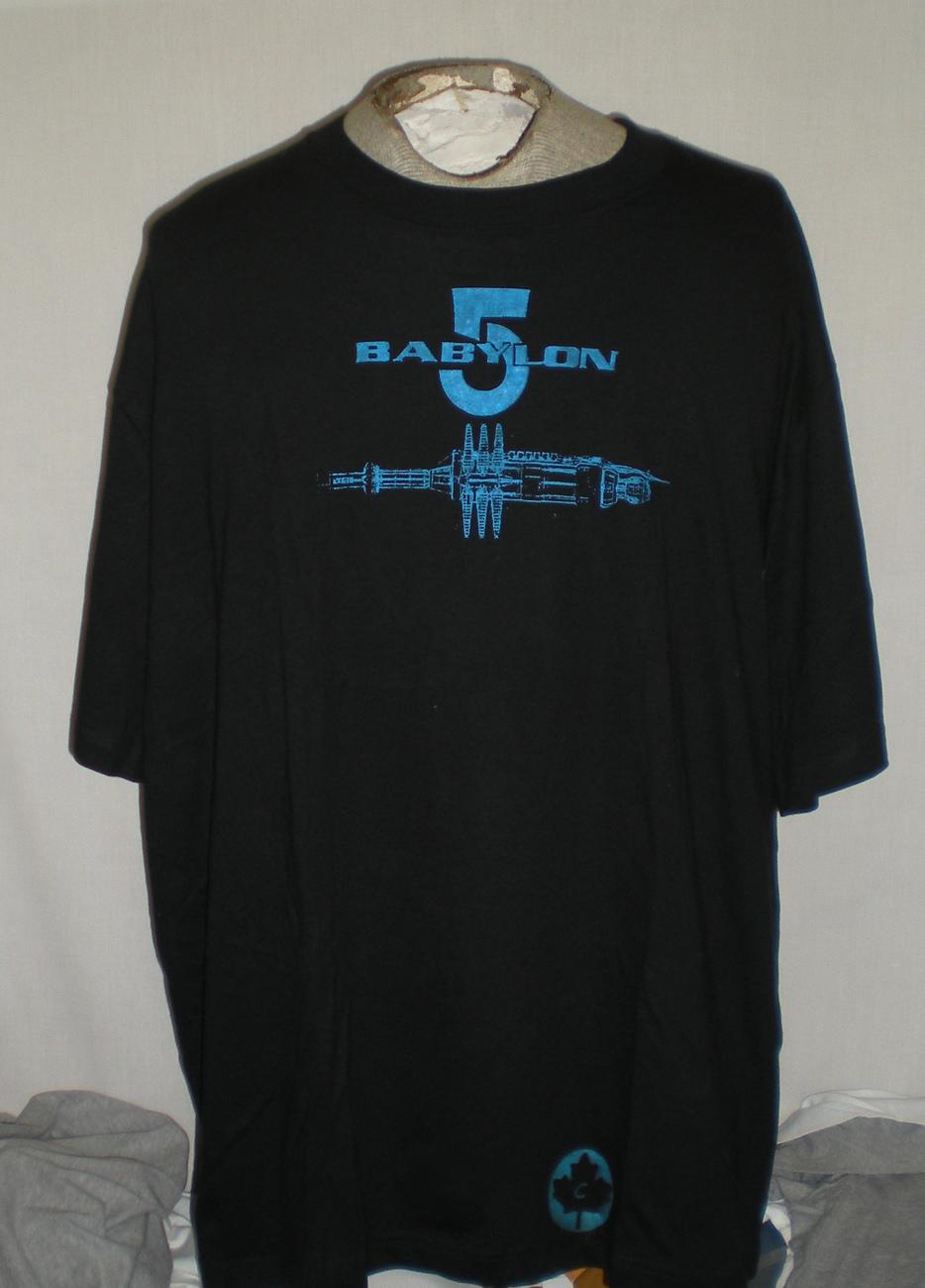 Babylon 5 B5 Fan T Shirt Size 2XLarge Bonanza