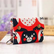 New Anime Japan Totoro Cat Wallet Pouch Case Short Canvas Mo D0P - $13.63