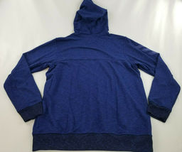 new ADIDAS men jacket hoodie full zip CW9658 blue 2XL MSRP $75 image 5