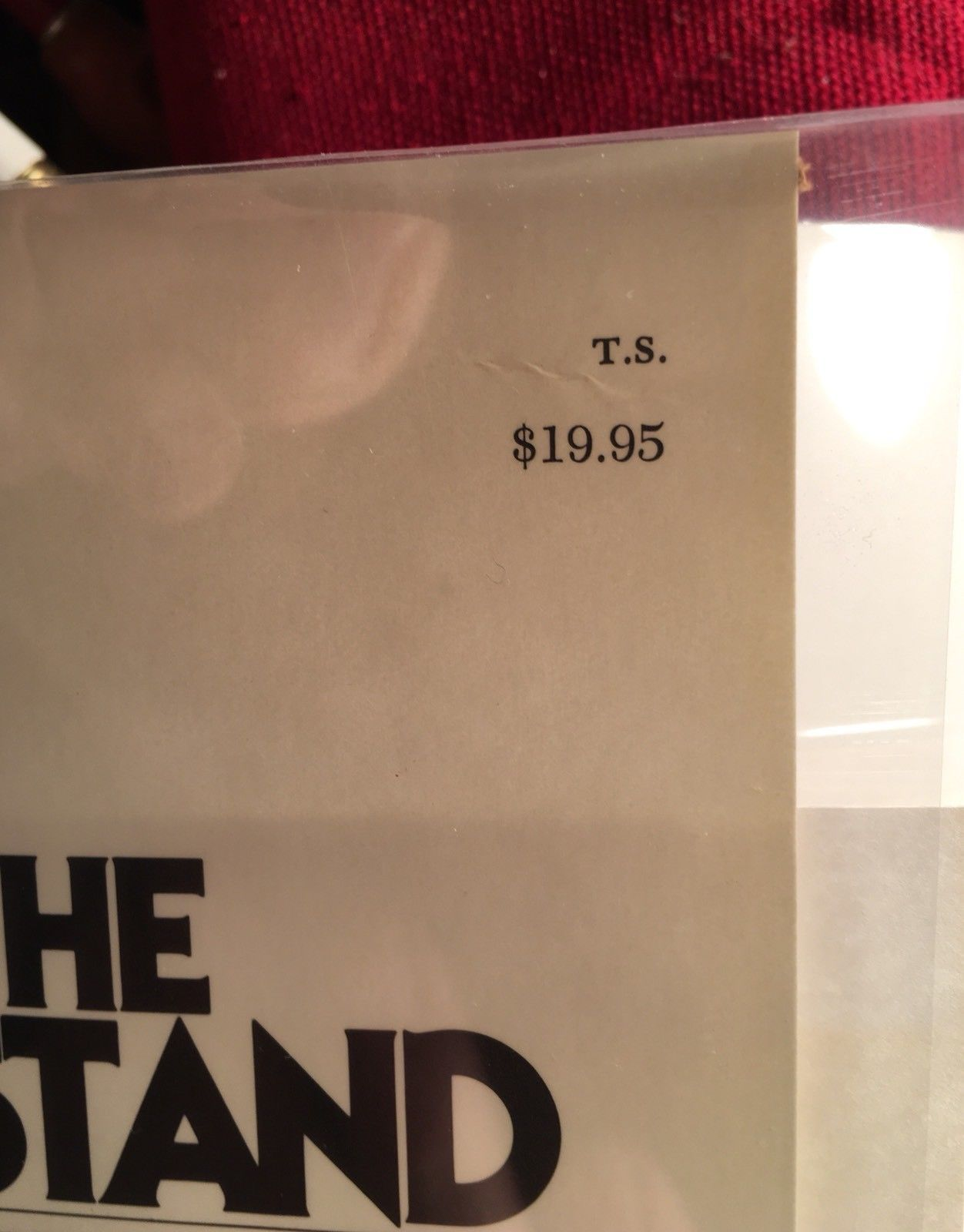 THE STAND by Stephen King -Fine/Fine