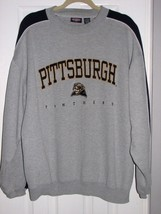 Men's Pittsburgh Panthers Embroidered Sweatshirt Logo Ncaa Sports - $14.95