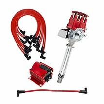 A-Team Performance Ready 2 Run R2R Small Red Cap Distributor Coil and Red 8mm Sp image 2