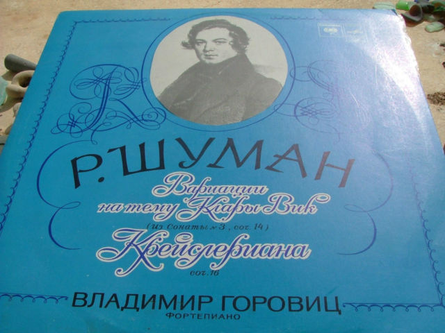 Vladimir Horowitz plays Schumann. Piano. LP RUSSIA RUSSIAN RARE