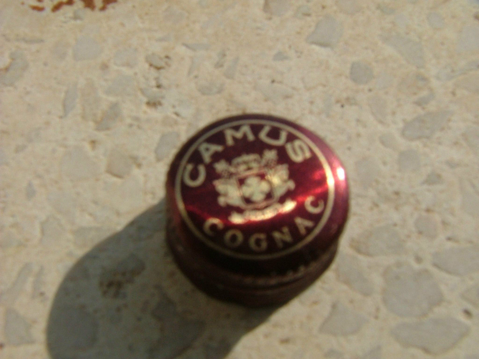 Miniature Camus Cognac empty plastic bottle - Rare 2 Find image 3