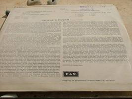 GEORGE MALCOLMC - BACH ITALIAN CONCERTO etc RARE LP RECORD MADE IN ISRAEL image 3