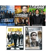 Leverage Complete TV Series Season 1 2 3 4 & 5 DVD  Sets [New] - $111.11