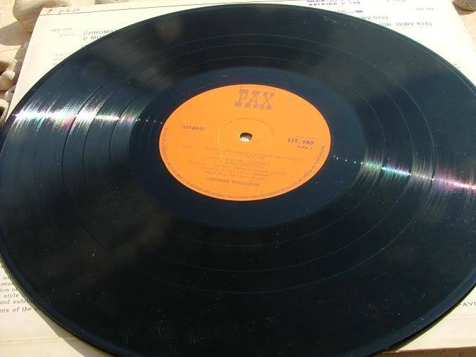 GEORGE MALCOLMC - BACH ITALIAN CONCERTO etc RARE LP RECORD MADE IN ISRAEL image 5