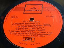 Villa-Lobos Bachianas Brasileiras Nos 2,5,6,9 Record LP Made in Israel , RARE image 4