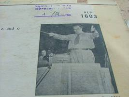 Villa-Lobos Bachianas Brasileiras Nos 2,5,6,9 Record LP Made in Israel , RARE image 5
