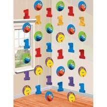 Elmo Turns One String Decorations 1st Birthday Party Sesame Street - $5.50
