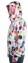 Bench Womens Aytoun C Bright White Windbreaker Hooded Jacket BLKF0028C NWT image 4