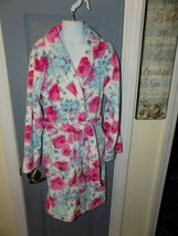 Betsey Johnson Bouquet Floral Print Robe Girl's NEW - $35.60