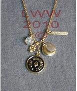 I Love Werewolves Gold-tone charm necklace NEW  - $5.99