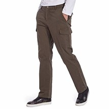 Eaglide Men's Elastic Waist Cotton Casual Pant, Men's Relaxed Classic Fit Straig - $29.80
