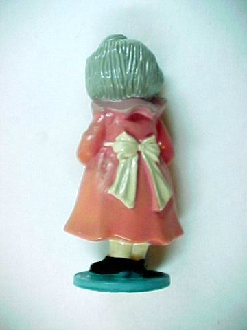 Vintage 1972 Berries World's Greatest Grandma Plastic Figurine