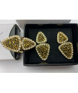 Avon Natural Elements Earrings & Statement Ring Size 8 #20-1114A - $14.20