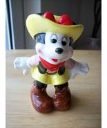 Disney Vintage Japan Minnie Mouse Cowgirl Figurine - $35.00