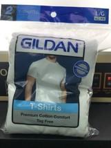 Gildan Hombre Ultra Algodón Camiseta Adulto, 2-pack L/G 42-44 - $12.72