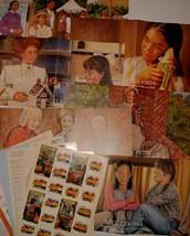 Vtg American Girl Poster Lot HTF 90s Sticker Molly Pleasant Company Jose... - $89.99