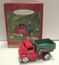 Hallmark 2000 Tonka Dump Truck Keepsake Ornament (Replica '53 Model 180 ... - $12.86
