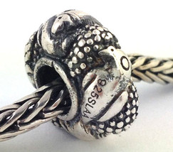 Authentic Trollbeads Paradise Birds Sterling Silver Bead Charm 11518, New - $40.84