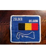 Vintage Zolder Belgium Embroidered Racing Patch, Formula One, Grand Prix - $19.95