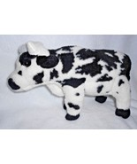 Webkinz Signature Normande Cow Plush Stuffed Animal NO CODE White Black ... - $16.79