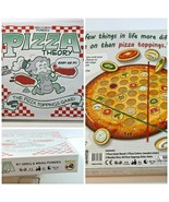 Pizza Theory Board Game The Pizza Topping Game Easy as Pi Ages 6+ New in... - $19.79