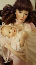 Ashton Drake Motherhood Lullaby Porcelain Doll Baby Sandra Kuck COA - $74.05