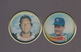 1988 - 1989 Topps Coins George Brett Kansas City Royals Hall of Fame - $0.99
