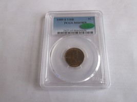 1909-S VDB , Lincoln Wheat Cent , PCGS , MS 65RB , CAC - $4,995.00