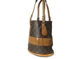 Authentic Louis Vuitton Vintage Bucket Monogram Tote Bag, Shoulder Bag LS12080L - $210.00