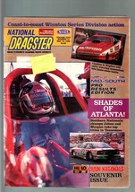 NATIONAL DRAGSTER-MAY 18 1990-NHRA-CAJUN NATIONALS SOUVENIR ISSUE-MID SO... - $43.46