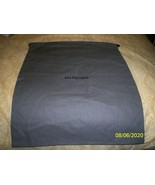 "NEW  BALENCIAGA Cotton Drawstring Dust Travel Storage Bag  12 x 14 "" - $14.84"
