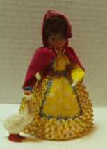 """Vintage Lil Missy """"MOTHER GOOSE"""" DOLL Styrofoam Body,1970's. Hand Crafted - $7.75"""