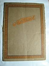 1915 National Automobile Catalog Brochure, Stringtied Indianapolis Racing  - $166.32